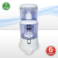 7-Stage Counter-top Gravity Water Filter (6 Gallon Capacity)