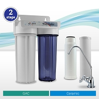 2 Stage Ceramic Carbon Water Filter