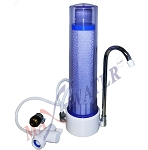 Countertop Drinking Filter Purifier W/ CTO carbon filter + Faucet diverter Valve