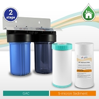 Two Stage Whole House water filter 10