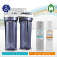 2 Stage Whole House/Cottage Water filter