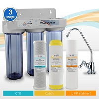 3-stage Hard Water/Drinking Water Filter