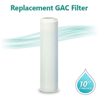 GAC T33 Coconut Shell Carbon Filter size 10