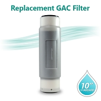 GAC Coconut Shell Granular Activated Carbon Filter semi clear Size 10
