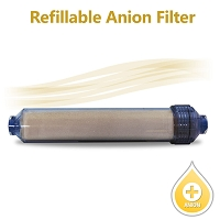 Inline Anion Resin Filter (Refillable) - For Nitrate Reduction