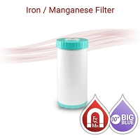 Iron / Manganese Water Filter Big Blue size 10