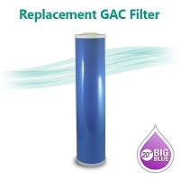 GAC 20B Coconut shell Granular Activated Carbon Water filter size 20