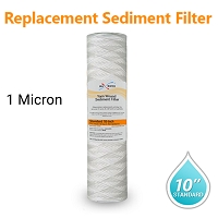 Yarn Wound Water Filter size 10