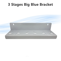 3 Stage Big Blue Single Oring Whole House Filter Housing Bracket N Type  77 x 70 mm