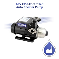 AEV CPU-Controlled Auto Booster Pump