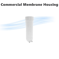 Reverse Osmosis Commercial size 2812 and 3012 Membrane Filter Housing.