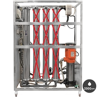 2000 GDP Commercial RO System with 1 membrane system.