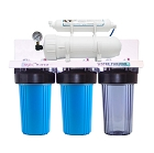 Dual 300 GPD commercial reverse osmosis Plus Optional Whole House water system