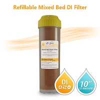 Mixed Bed DI Resin Filter Cartridge (refillable)