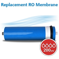 Commercial Reverse Osmosis Membrane ULP2812-200 GPD Size 11.75