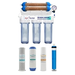 Aquarium reef coral reverse osmosis system 100 gpd pure 0 ppm ro di water filter