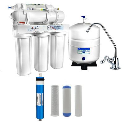 5-stage Home Drinking Water Reverse Osmosis System