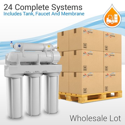 Wholesale 24 systems 5 Stage drinking reverse osmosis system