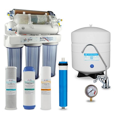9 stage di, alkaline, mineral, far infrared reverse osmosis system