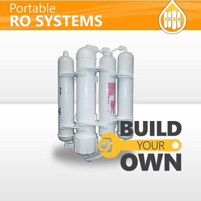 4 Stage Countertop Drinking MiniMax Portable Reverse Osmosis System Build You Own