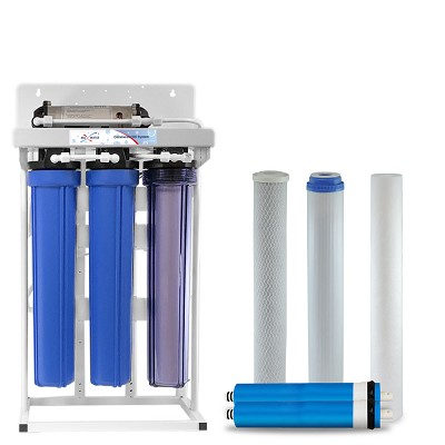 400 GPD commercial reverse osmosis water system