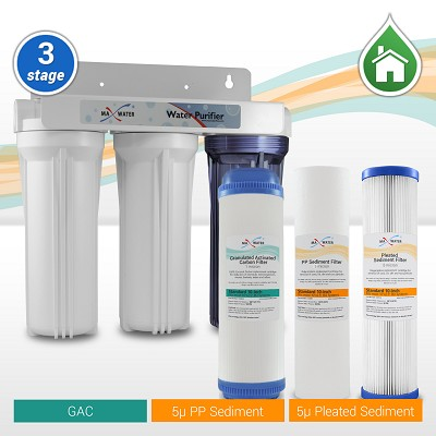 3 Stage Whole house water filter