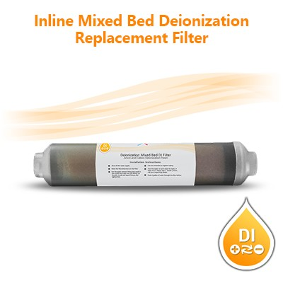 Di deionization mixed bed ion exchange resin / demineralization filter