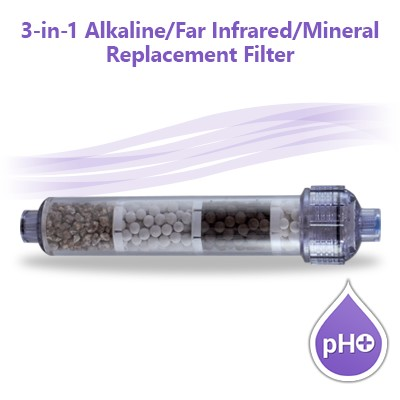3-in-1 pH+ Alkaline Mineral Infrared Water Filter