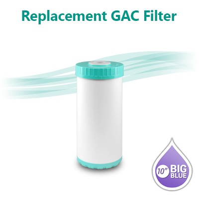 "GAC T33 Coconut Shell Carbon Filter size 10""x4.5"""