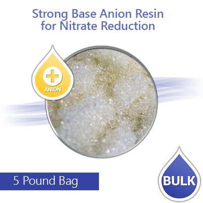 Anion Resin for Nitrate Reduction - 5 lbs