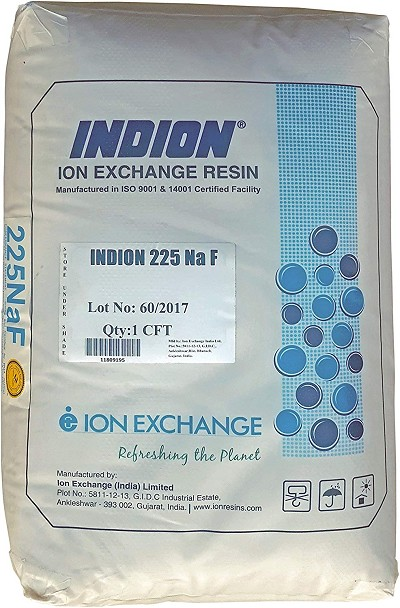 One (1) Cubic Foot, single bag, Water Softener Ion-exchange Resin 8% Crosslinked