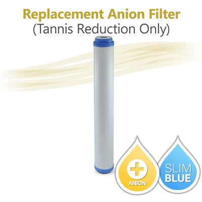 "20"" x 2.5"" Tannis reduction water resin (for Tannis Reduction Only)"
