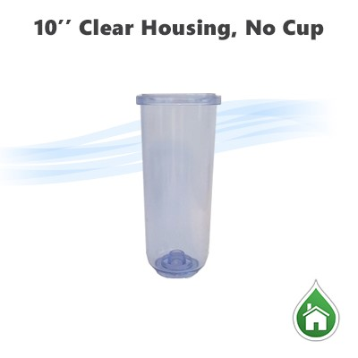 Water Filter Clear Housing without Cap for 103453