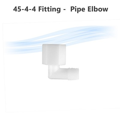 "45-4-4 Fitting - 1/4"" Tube x 1/4"" pipe Elbow"