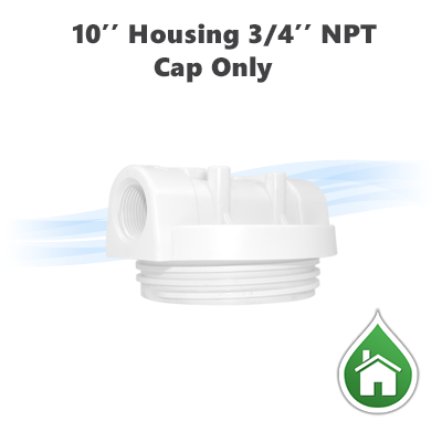 "Parts / 10"" Water filter housing head only without housing"