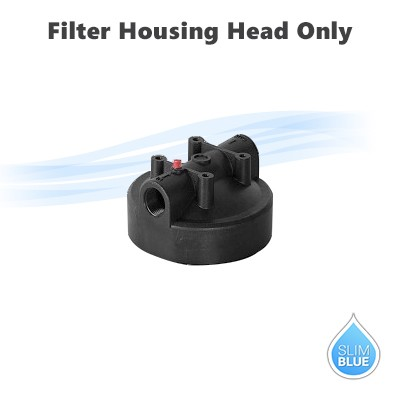 "Replacement head for 10"" & 20"" Big Blue housing Single O Ring OR Double Oring ,  3/4"" or 1"" port."
