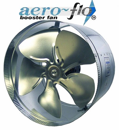 "10"" in line duct booster fan - 650 cfm"