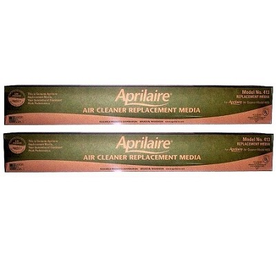 Aprilaire 413 Filter Media Replacement 2410, 4400 / 2 Pack