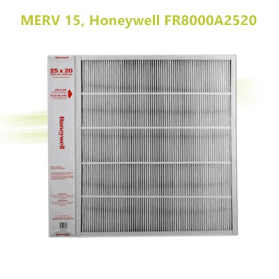 "Honeywell FR8000A2520  -  Air Filter 25"" x 20"" MERV 15"