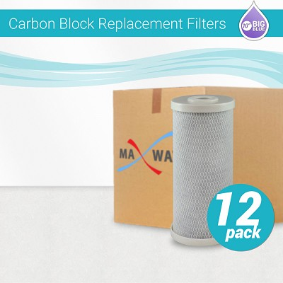 "12 x CTO Carbon Block Filter size 10""x4.5"""