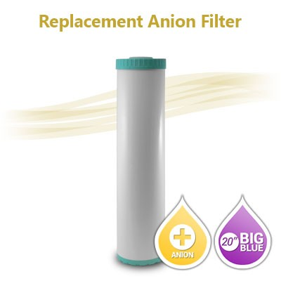 "20"" Big Blue Anion Resin Nitrate Reduction Filter"