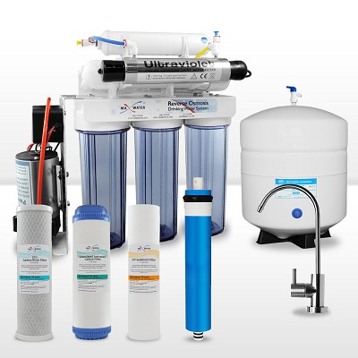 6-stage Reverse Osmosis System with Booster Pump & UV Sterilizer