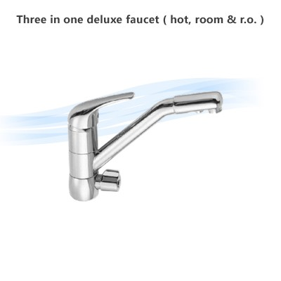 Three in one deluxe faucet ( hot, room & r.o. )