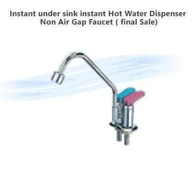 Instant Under Sink Hot Water Dispenser Non Air Gap Faucet Final