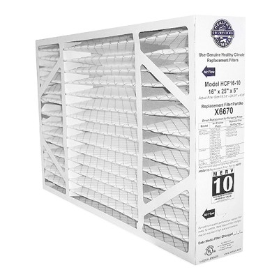 "LENNOX X6670 HCF16-10 16x25x5"" Furnace Media Filter"
