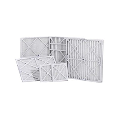 "Dafco/aerostar 20x25x4 actual size 19 1/2"" x 24 1/2"" x 3 3/4""  MERV 8 SC Pleated Air Filters - Case of 4"