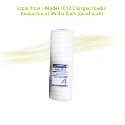 Ecoairflow / Model 1010 Charged Media Replacement Media Pads (quad pack)